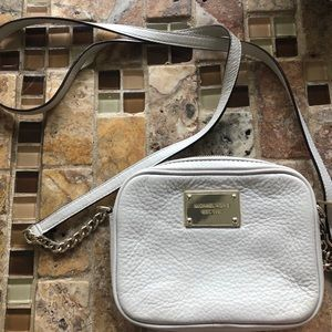 COPY - Michael Kors jet set crossbody bag! Off wh…